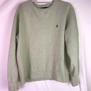 Polo Crew-Neck Sweater